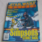Star Wars Insider Magazine issue 38 The Simpsons Strike Back